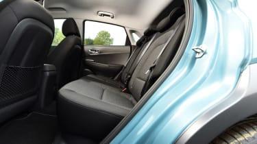Hyundai Kona Electric - rear seats
