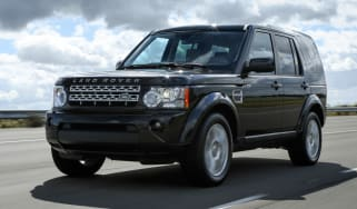 2013 Land Rover Discovery 4 front action