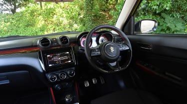 Suzuki Swift Sport long-term test - interior