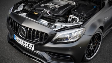 Mercedes-AMG C 63 S Coupe - engine