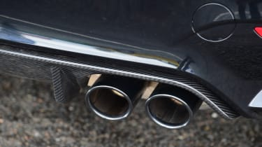 BMW M4 - exhaust