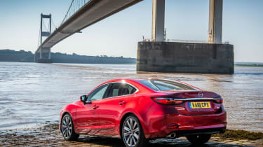 New Mazda 6 2018 facelift review rear