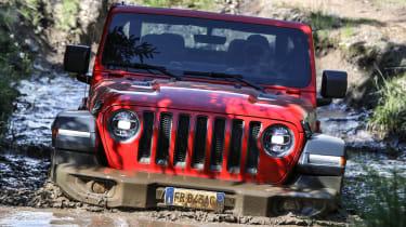 New Jeep Wrangler Rubicon - water