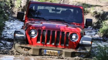 New Jeep Wrangler Rubicon - water