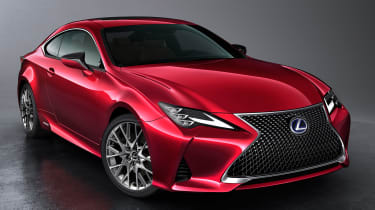 Lexus RC - front