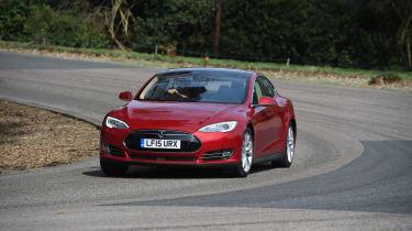 Tesla Model S long-term final report - front action