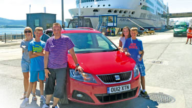 SEAT Alhambra satic