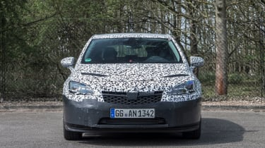 """<p class=""""p1""""><span class=""""s1"""">The outgoing Astra still sells well, but it's much heavier and less fun than rivals. The new car cuts weight by 130kg on average.</span></p>"""
