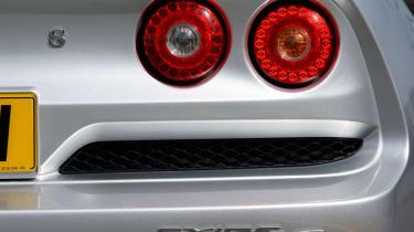Lotus Exige S badge
