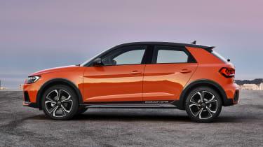 Audi A1 Citycarver - side static