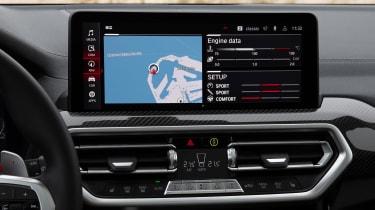 BMW X3 M - sat-nav
