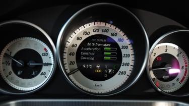 Mercedes E-Class Estate dials