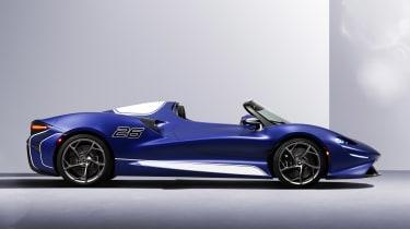 McLaren Elva windscreen variant - side