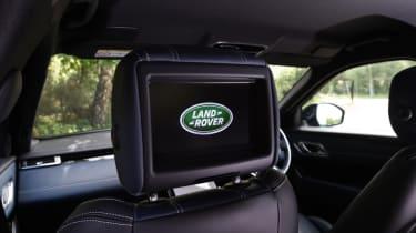Range Rover Velar - headrest TV