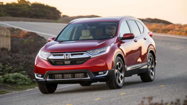 New Honda CR-V - front cornering