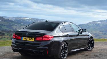 BMW M5 - rear static