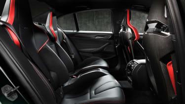 BMW M5 CS - studio rear seats