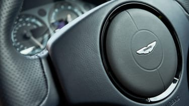 Aston Martin Rapide AMR - steering wheel detail