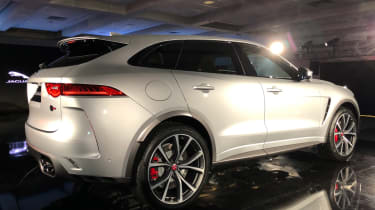 Jaguar F-Pace SVR - launch rear