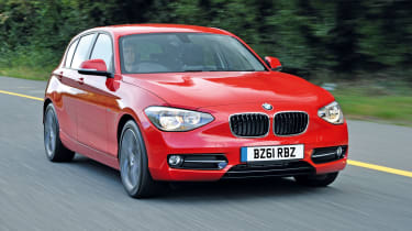 BMW 118d front tracking
