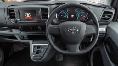 Toyota Proace Electric van - cabin
