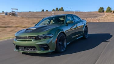 The Dodge Charger arrived in 1966 and while the seventh generation car launched in 2011 has less of an obvious retro design link to the early models than the Camaro or Mustang, it certainly carries their muscle car ethos - particularly in SRT-8 form.