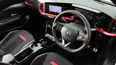 Vauxhall Mokka-e - first report dash