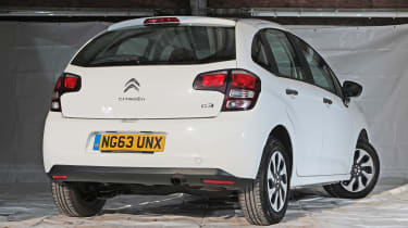Used Citroen C3 - rear