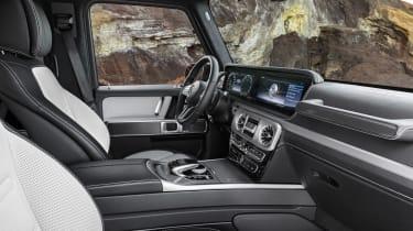 Mercedes G-Class - front seats