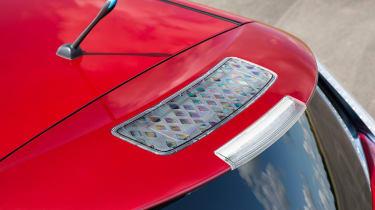 Nissan Leaf spoiler solar panel