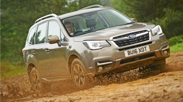 Subaru Forester - off-road