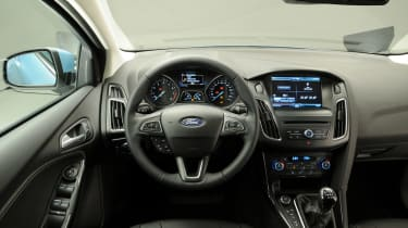 Ford Focus 2014 facelift interior