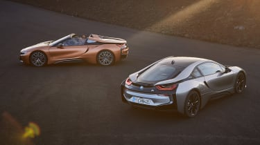 BMW i8 and i8 Roadster - static
