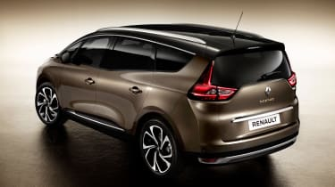New Renault Grand Scenic 2016 - rear