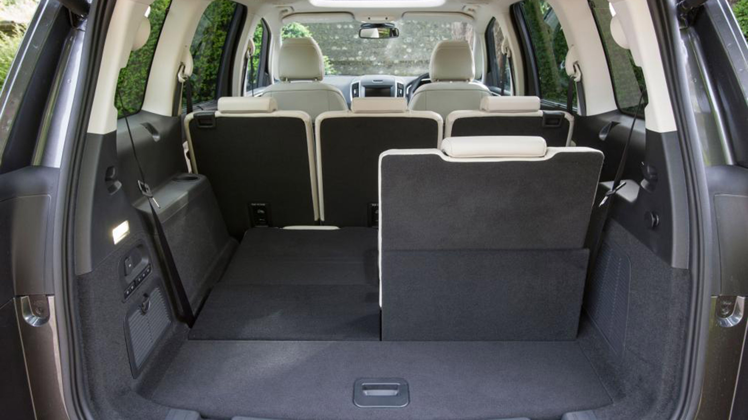 Ford Galaxy Practicality Boot Size Dimensions Luggage Capacity