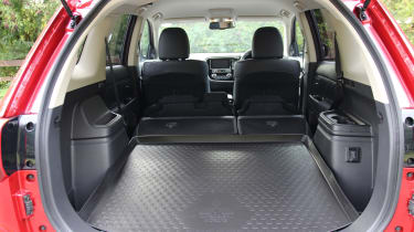 New 2019 Mitsubishi Outlander PHEV boot space