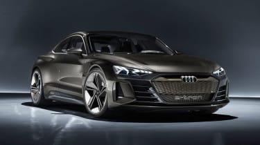 Audi e-tron GT concept - front static studio
