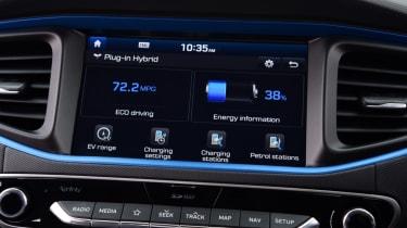 Hyundai Ioniq - infotainment
