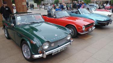 Coventry Motofest 2016 - Triumph cars
