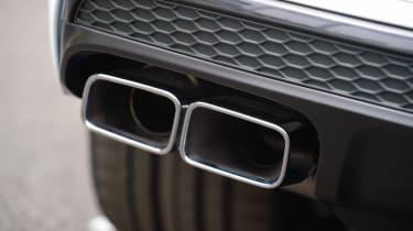 Audi SQ7 - exhaust