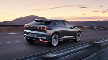 Jaguar I-Pace - rear night