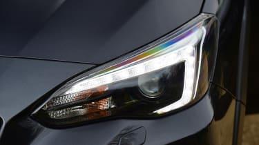 Subaru XV - front lights