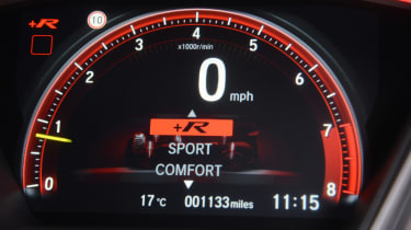 Honda Civic Type R - dials