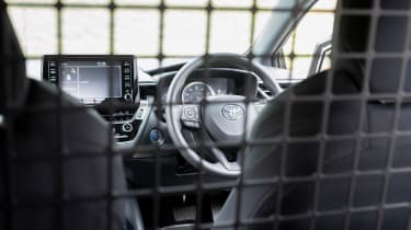 Toyota Corolla Commercial hybrid van - interior