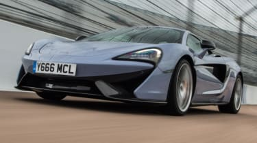 Mclaren 570s review - track pack front