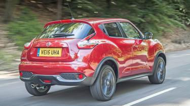 Nissan Juke - rear tracking