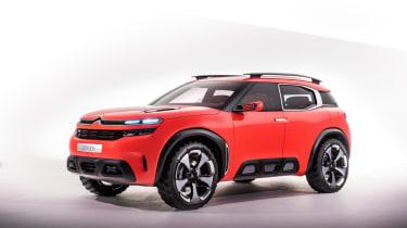 Citroen Aircross concept - front