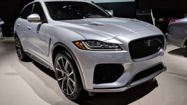 Jaguar F-Pace SVR - New York front