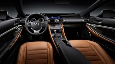 Lexus RC - cabin