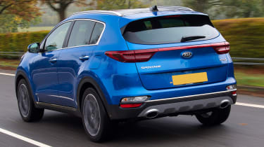 kia sportage 48v hybrid tracking rear